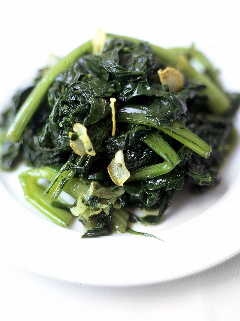 Braised greens