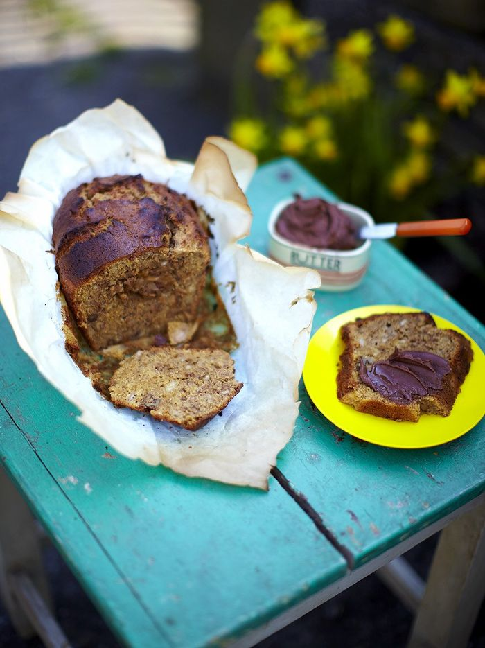 Walnut & banana loaf
