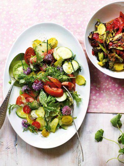 Summer ratatouille salad