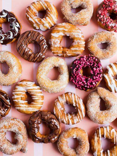Spiced doughnuts