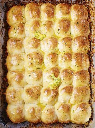 Jamies comfort food recipes jamie oliver tear n share garlic bread forumfinder Choice Image