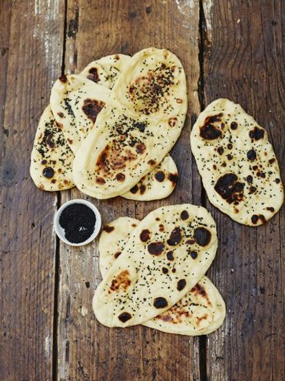 Incredible naan breads