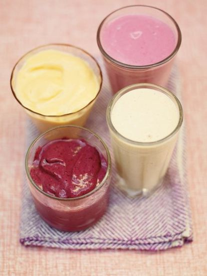 Bevroren fruit smoothies