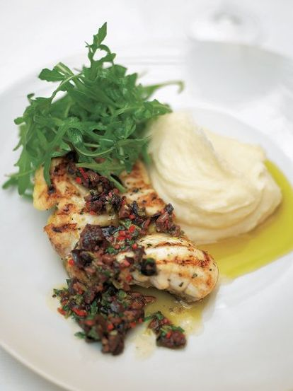 Monk Fish Recipe Grilled