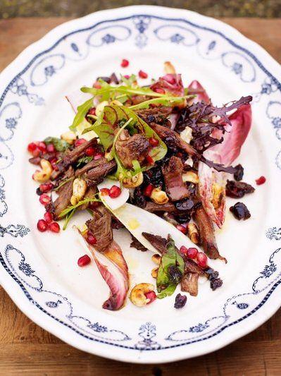 Asian-inspired turkey salad