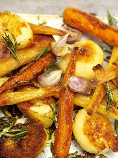 Roasted Potatoes, Parsnips, and Carrots | Roasted Vegetables Recipes to Jazz Up Your Chilly Nights