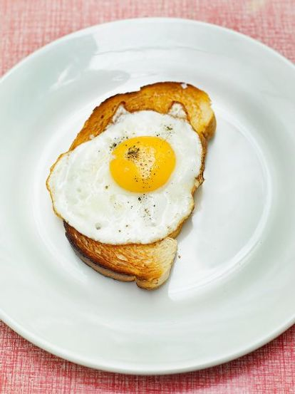 Sunny side-up eggs