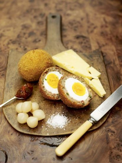 Proper Scotch eggs