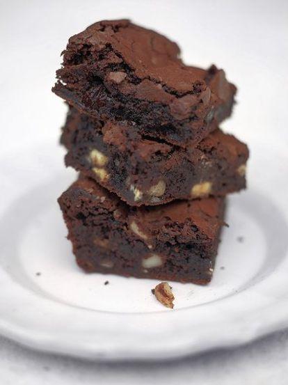 Bloomin Brilliant Brownies