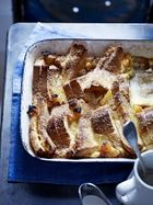 Brioche bread & butter pudding