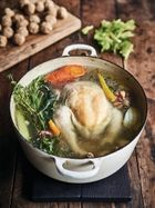 Epic poached chicken & dumplings