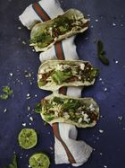 Dexter Fletcher's party-time Mexican tacos