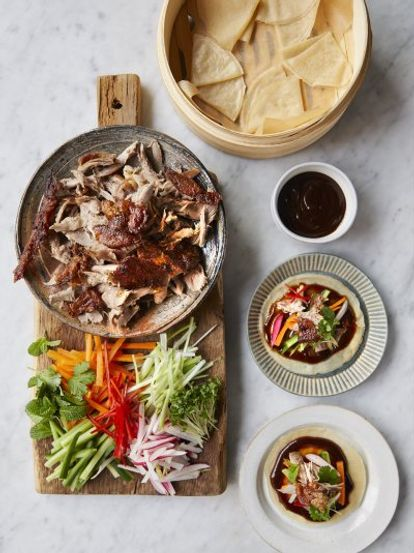 Rob Beckett's crispy duck with pancakes | Jamie Oliver recipes