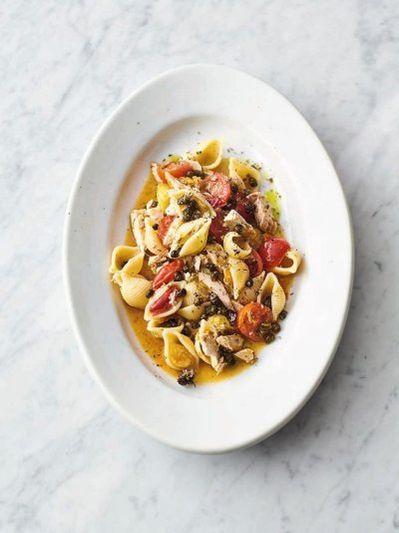 Sicilian tuna pasta