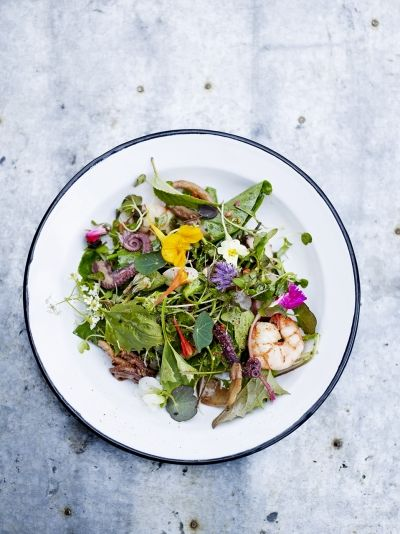 Asian Seafood Salad | Fresh Spring Salad Ideas To Savor This Season