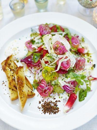 Scandinavian Starter | Fresh Spring Salad Ideas To Savor This Season
