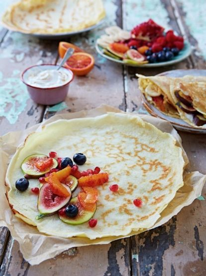 Easy pancakes eggs recipes jamie oliver easy pancakes ccuart Gallery