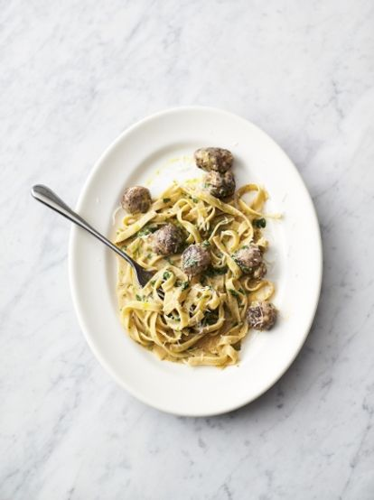 Easy sausage carbonara