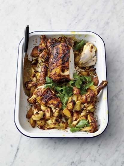 Roast tikka chicken