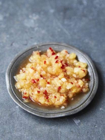 Sambal nenas (pineapple relish)