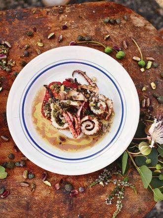 Easy healthy recipes jamie oliver grilled squid salad forumfinder Gallery