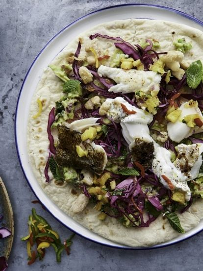Fearne Cotton's Mexican fish tacos