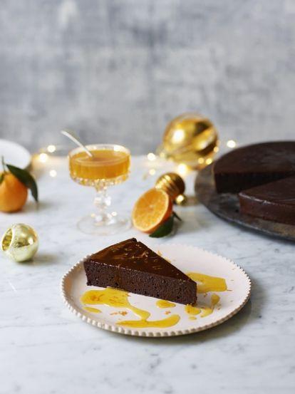 Chocolate Clementine Torte