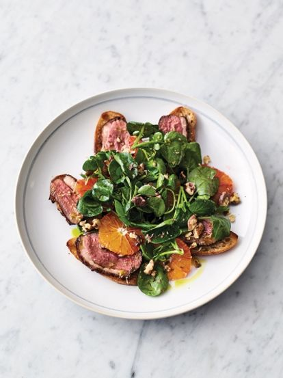 Duck & orange salad