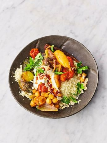 Wonderful veg tagine