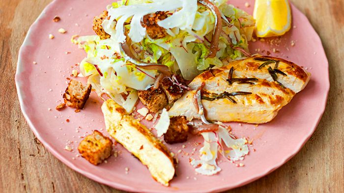 Healthy chicken Caesar