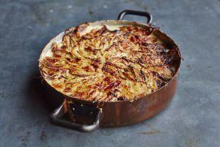Quick potato dauphinoise: Jamie Oliver