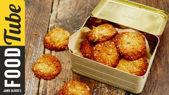 Anzac Day biscuits: Tobie Puttock