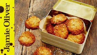 Anzac Day biscuits: Tobie Puttock