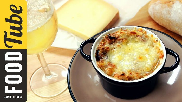 Classic French onion soup: French Guy Cooking