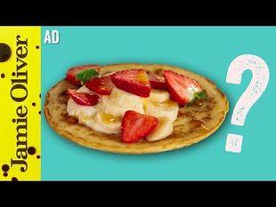 Jamie's perfect pancakes