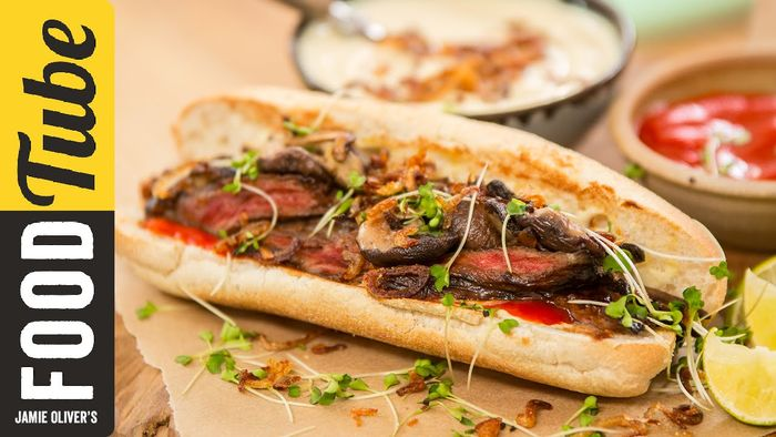 Japanese Steak Sandwich