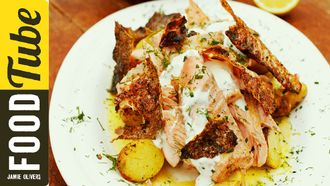 Mouth-watering fennel crusted salmon: Jamie Oliver