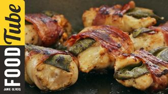 Chicken bites with bacon & sage: Gennaro Contaldo
