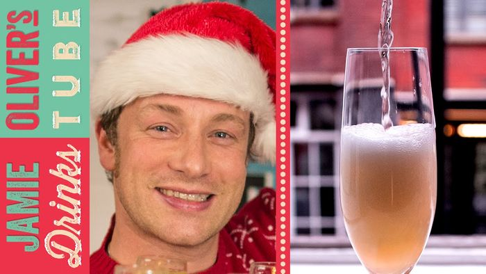 Pimped up party prosecco: Jamie Oliver