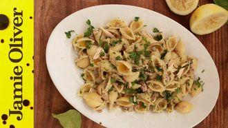 Tuna and lemon pasta sauce: The Chiappas