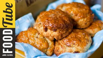 How to make bacon buttermilk scones: Donal Skehan