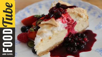 4th July New York cheesecake: Jamie Oliver