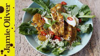 Super food chicken curry: Jamie Oliver