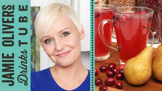 Hot cranberry & pear punch: The Domestic Geek
