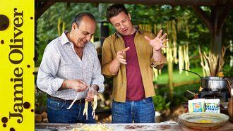 Bolognese filled ravioli: Jamie Oliver & Gennaro Contaldo