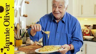 Real spaghetti carbonara: Antonio Carluccio