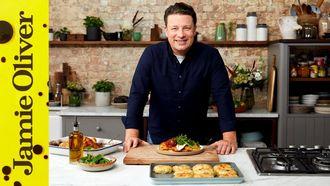 Roast chicken Margherita: Jamie Oliver