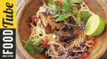 Crispy pork with noodles: Jamie Oliver