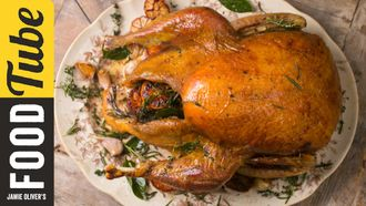 Fail-safe roast turkey: Jamie Oliver