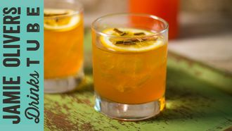 A Scotchwork orange cocktail: Simone Caporale